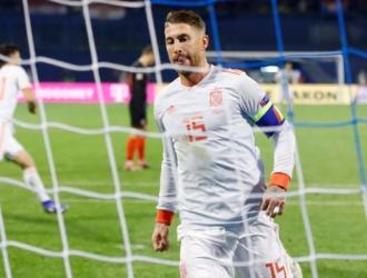 Ramos no estará ante Bosnia/ Foto AP