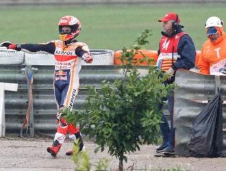 Márquez fue uno de los que cayó/ Foto AP