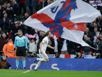 Kane fue el héroe de Inglaterra/ Foto AP