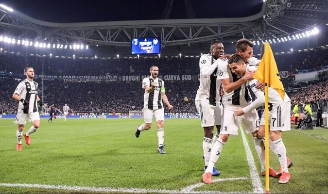 La Juve se mete en los octavos de la Champions  Foto: Cortesía