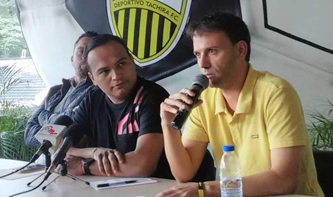 Pallarés dejó el Deportivo Táchira || Foto: Archivo