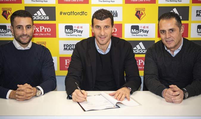 Se siente orgulloso por renovar || Foto: Watford FC