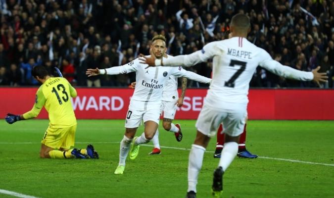 Bernat y Neymar liquidaron al Liverpool | Foto: UEFA