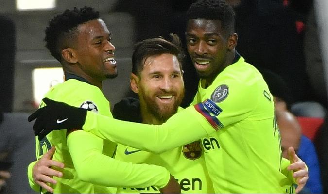 Messi guió la victoria del Barca con un gol y asistencia | Foto: AFP