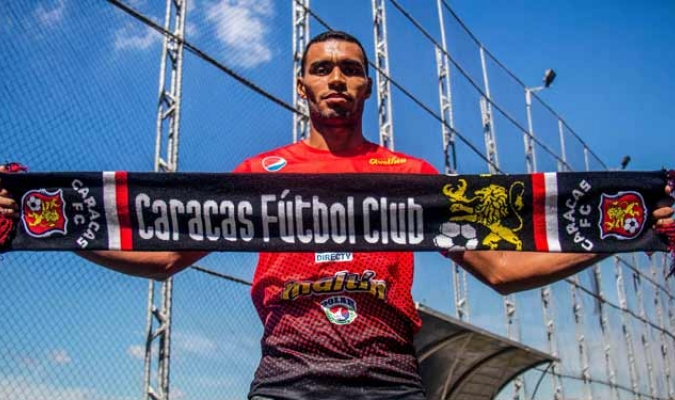 Hernández llega proveniente del Deportivo Anzoátegui | Foto: @Caracas_FC
