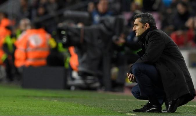 Ernesto Valverde dio sus impresiones de la victoria del Barca ante Villareal   Foto: @sport