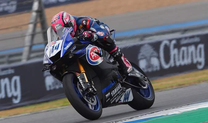 El francés deja su Yamaha YZF-R6 || Foto: Cortesia