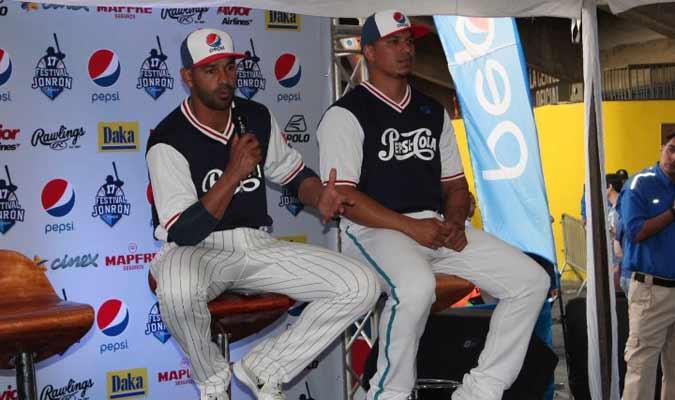 Guzmán estuvo presente en la rueda de prensa del Jonrón Pepsi || Foto: Cortesía