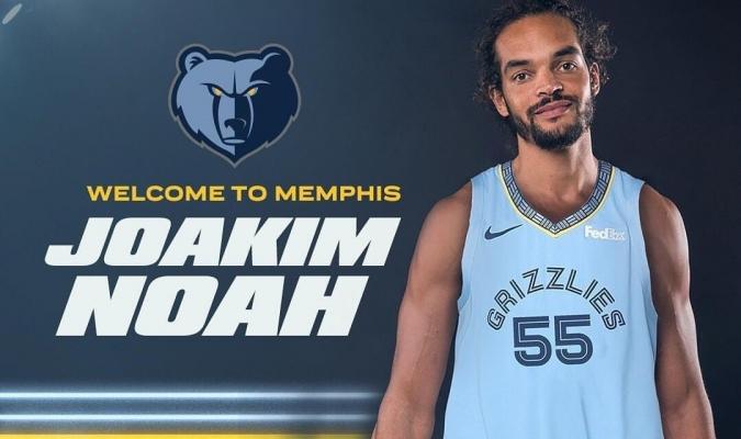 Noah llega a Memphis por el resto de la temporada | Foto: NBA