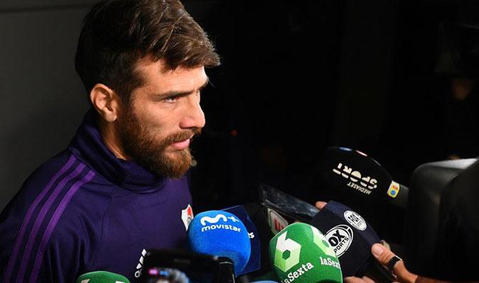 Pozio dijo que toca disfrutar jugar en el Bernabéu/ Foto EFE