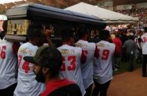 Homenaje de Cardenales para Luis Valbuena y José Castillo