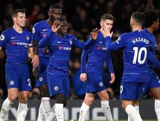 City no puedo contener la ofensiva del Chelsea Foto: Cortesía