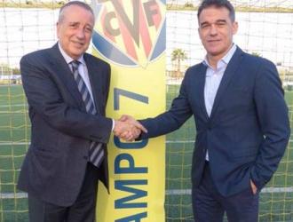 García entrenó al filial del Villarreal en la 2005-2006/ Foto @VillarrealCF