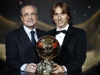 El Presidente del Madrid elogió a Modric || Foto: Cortesía
