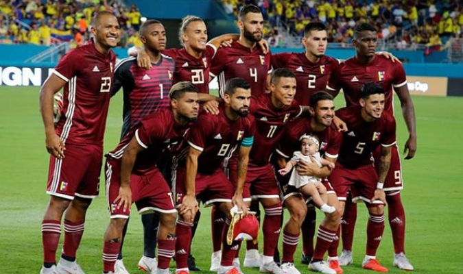 Venezuela disputó seis partidos en el 2018 || Foto: Cortesía