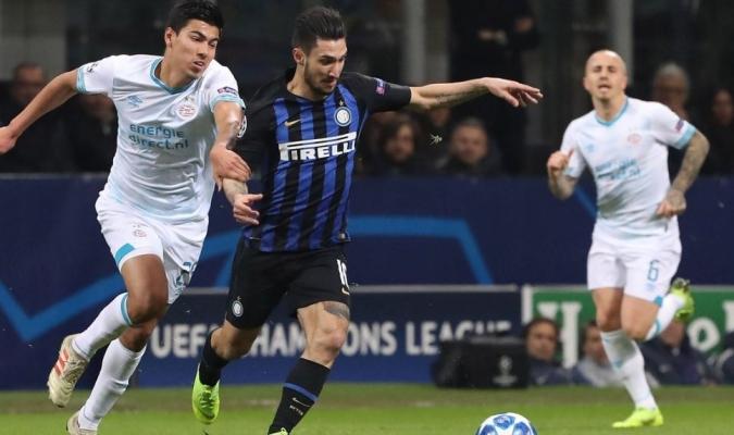 El Inter se quedó corto en la clasificación de la Champions Foto: Cortesía
