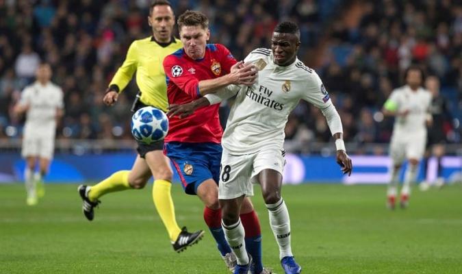Vinicius disputó los 90 minutos | Foto: EFE