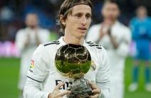 Modric ofreció al Bernabéu su Balón de Oro