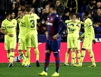 Messi se anotó un Hat Trick / Foto: EFE