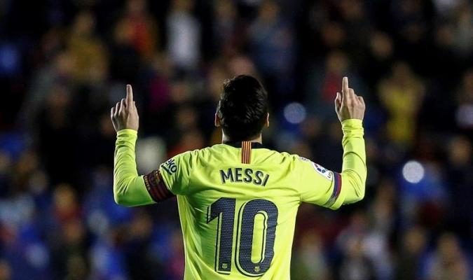El argentino es el goleador de La Liga | Foto: EFE