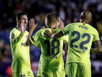 Messi tuvo puntuación perfecta frente a los Granotes | Foto: EFE