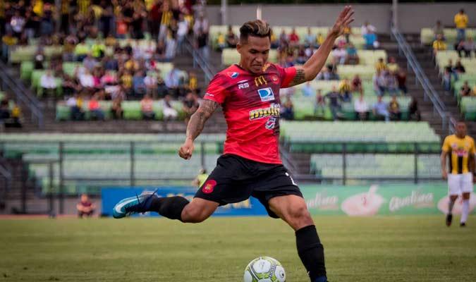 Marcó cinco goles en el Caracas || Foto: Cortesía
