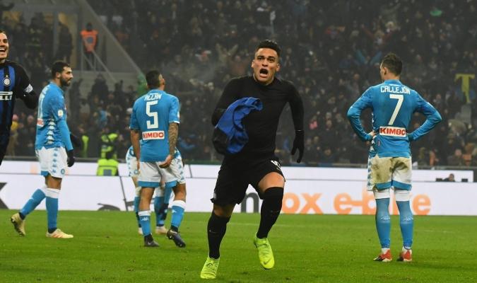 Martínez liquidó al 90+2' | Foto: @Inter
