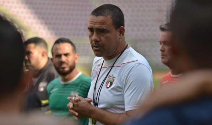 Leo González es el técnico del club || Foto: Deportivo Lara