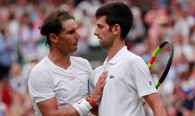 Nadal y Djokovic se han enfrentando || Foto: Cortesía
