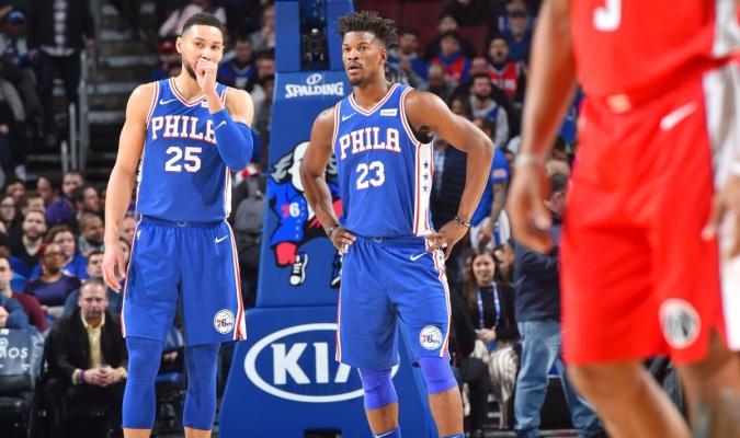 Filadelfia se mantiene en racha ganadora | Foto: @NBA