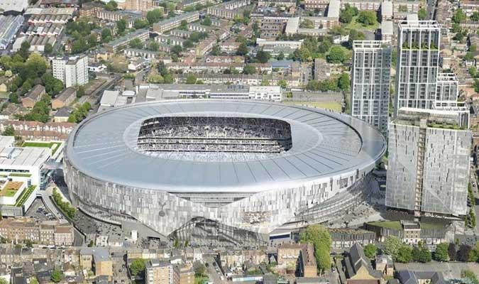 El estadio sigue en construcción || Foto: Cortesía