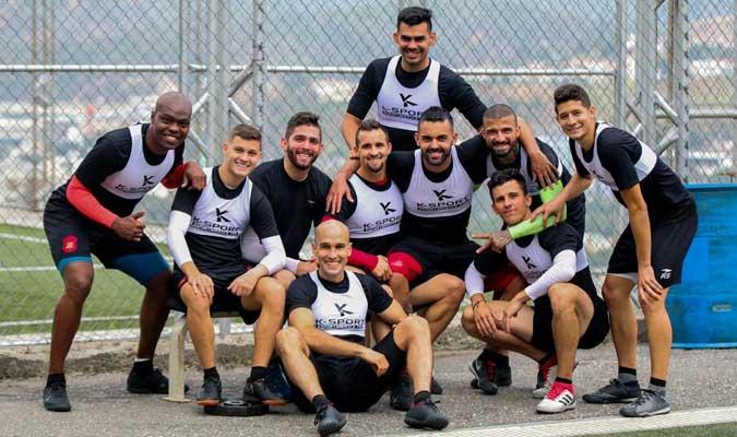 Los jugadores están listos para viajar || Foto: Cortesía