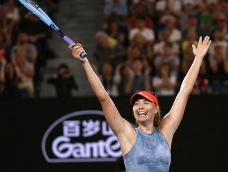 La rusa eliminó a la vigente campeona / Foto: AP