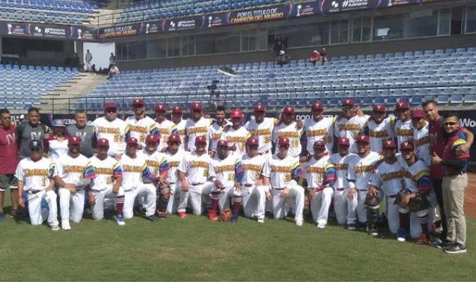 Los venezolanos buscarán clasificarse a Tokio 2020 en la Premier 12 || Foto: Cortesía