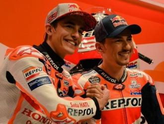 Lorenzo y Márquez ya comparten en la misma escudería || Foto: Cortesía