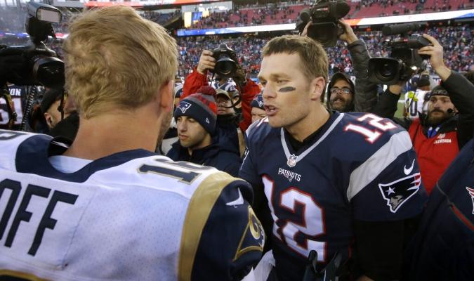 Ambos tienen una gran trayectoria en la NFL Foto  AP 5594c3810ae