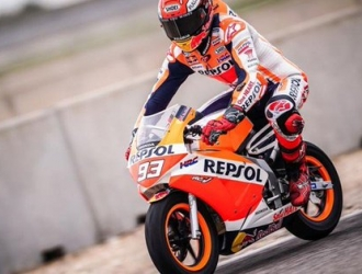 El español volvió a pilotar una moto / Foto: Cortesía