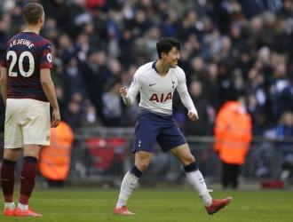 El coreano anotó al final del duelo / Foto: AP