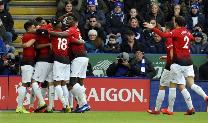 El United mantiene su invicto con Solskjaer /  Foto: AP