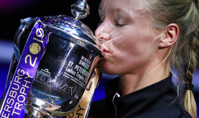 La danesa ganó el octavo título de su carrera / Foto: AP
