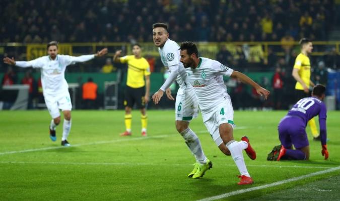 Bremen eliminó en octavos al Dortmund por la vía de los penales | Foto: Referencial