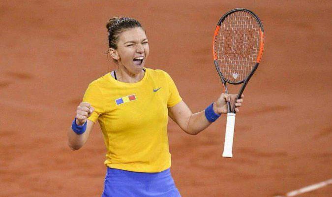 La tenista rumana triunfó || Foto: Referencial