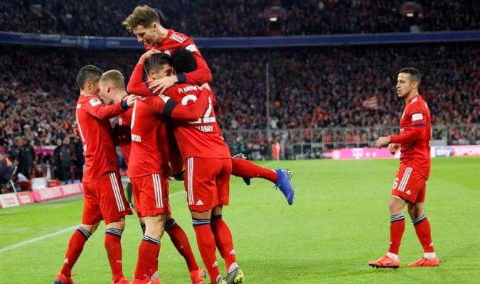 Los bávaros se pusieron a cinco del Dortmund | Foto: EFE