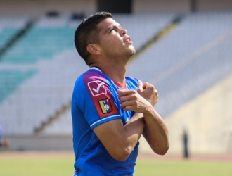 El monaguense marcó sus tres primero tantos del 2019 | Foto: @AtleticoVzla
