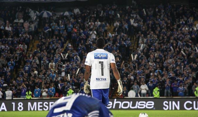 El venezolano tiene 52 partidos en ese club || Foto: Millonarios FC