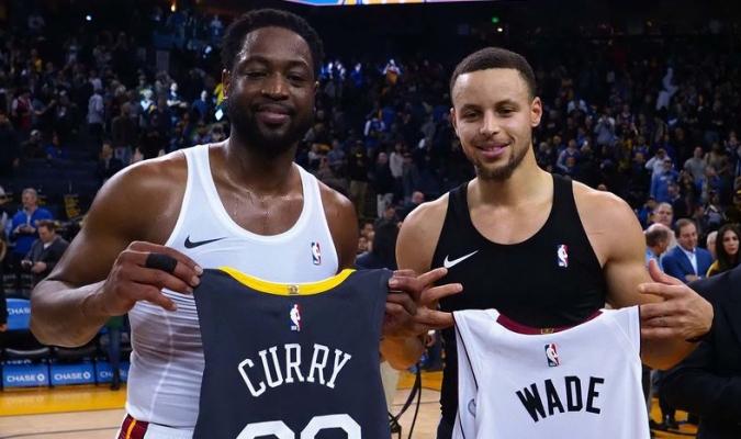 Curry confía en que Wade podría durar un tiempo más en la NBA Foto: Cortesía