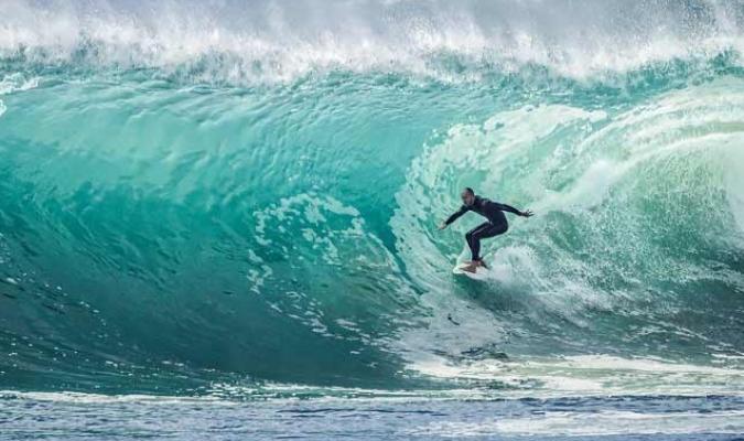El surfista está estable || Foto: Cortesía