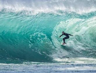 El surfista está estable    Foto: Cortesía