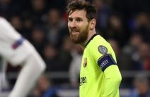 El Barça no pudo marcar ante el Lyon