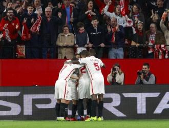 Sevilla se sumó de primero a los octavos de Europa League | Foto: AP